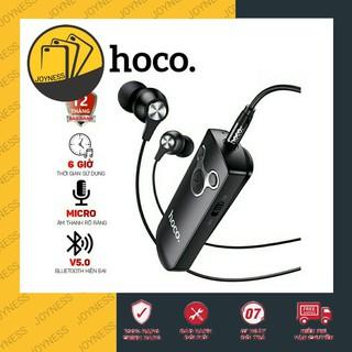 Tai Nghe Bluetooth Hoco E52 Có Cài Áo Hỗ Trợ 6 Giờ Đàm Thoại Liên Tục - Bảo Hành 12 Tháng Chính Hãng