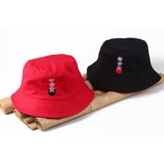 Nón bucket thêu chữ nhật, nón bucket, mũ bucket