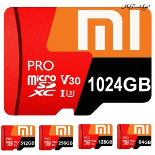 (Hàng Mới Về) Thẻ Nhớ 64g / 128g / 256g / 512g / 1t Xiao-Mi Evo Plus Usb 3.0 Tốc Độ Cao