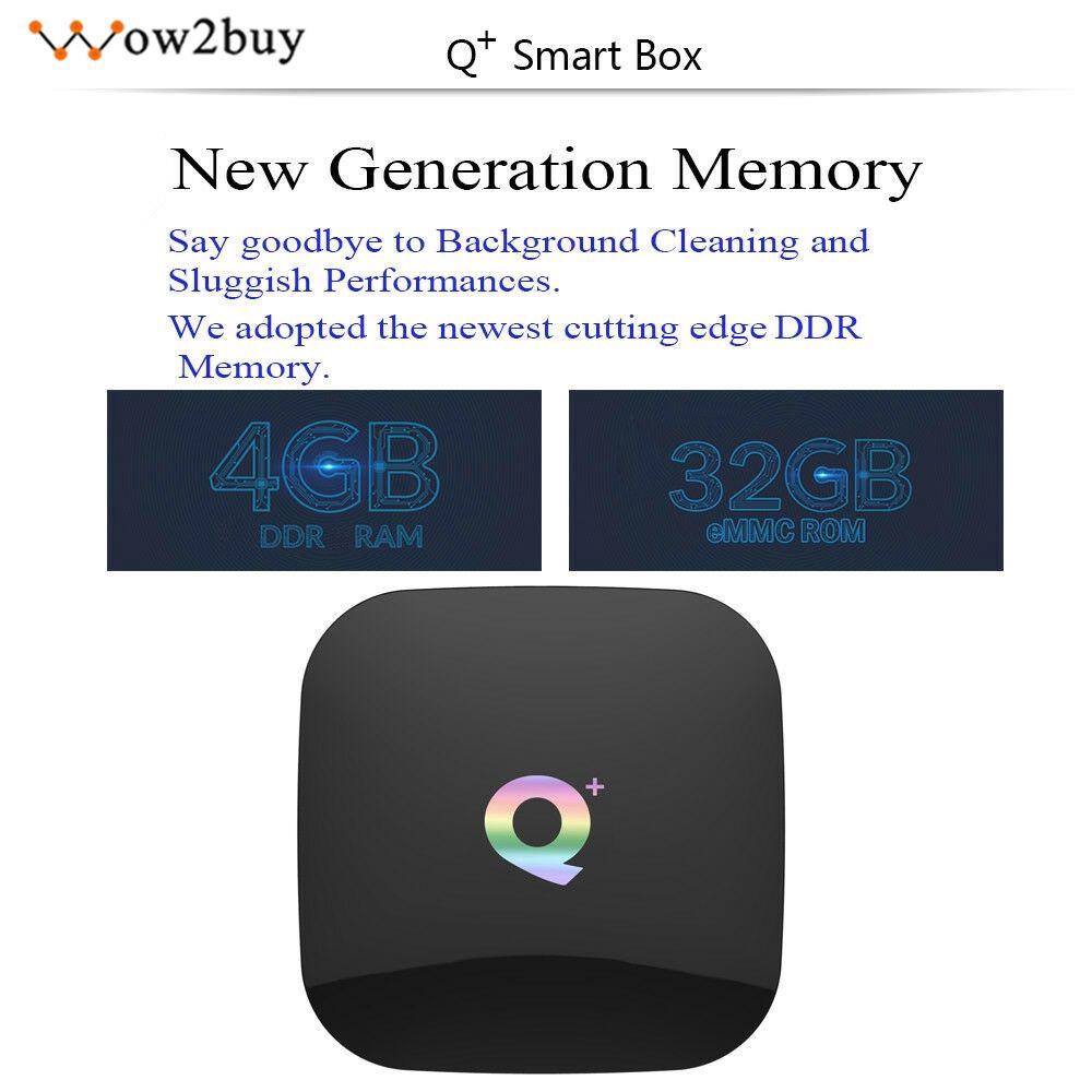 Hộp TV Android 8.1 Q Plus + phụ kiện cho TV HD Kỹ thuật số
