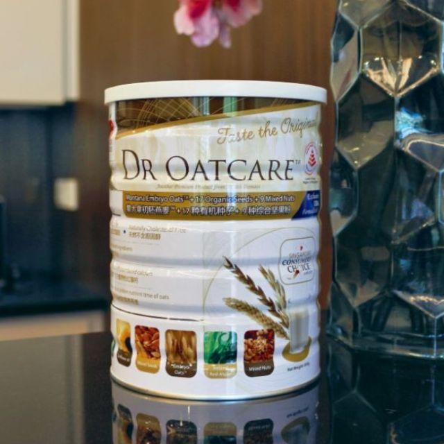 [HCM] SỮA HẠT DẠNG BỘT DR OATCARE - LON 850gr