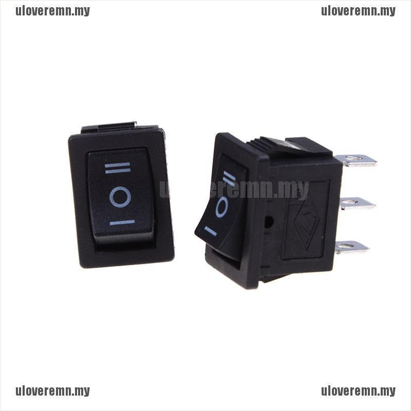 Set 5 Công Tắc Bật / Tắt Mini 3 Pin Ac 6a / 250v 10
