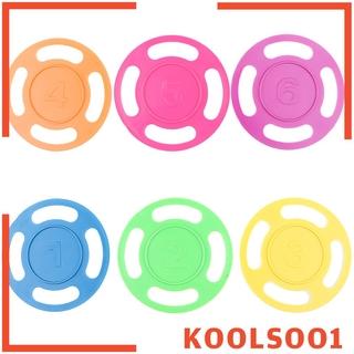 Set 6 Vòng Nhựa Nhiều Màu Sắc Dùng Để Bơi Lội Cho Bé Koolsoo1