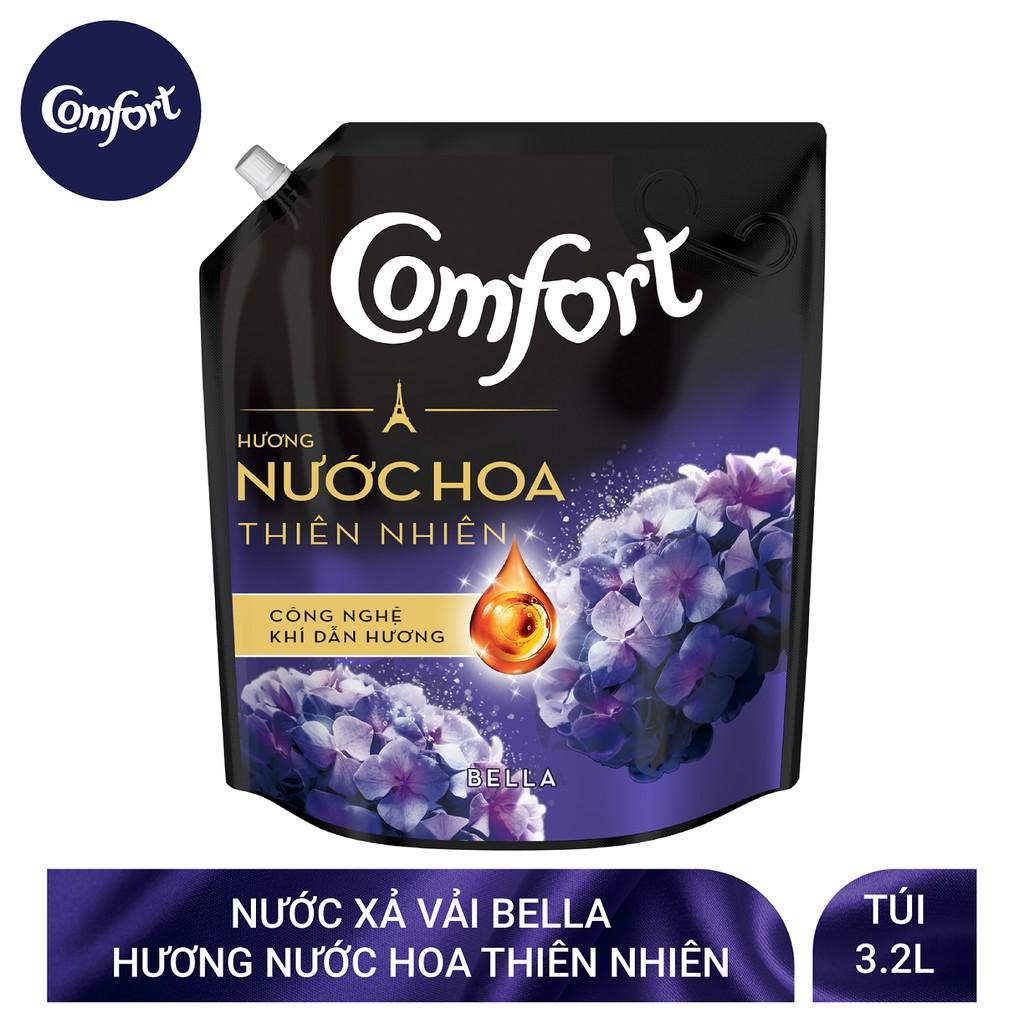 Nước xả vải Comfort Hương Nước hoa thiên nhiên túi 3,2L