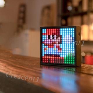 Loa Bluetooth Kiêm Đồng Hồ Báo Thức Hiển Thị Led