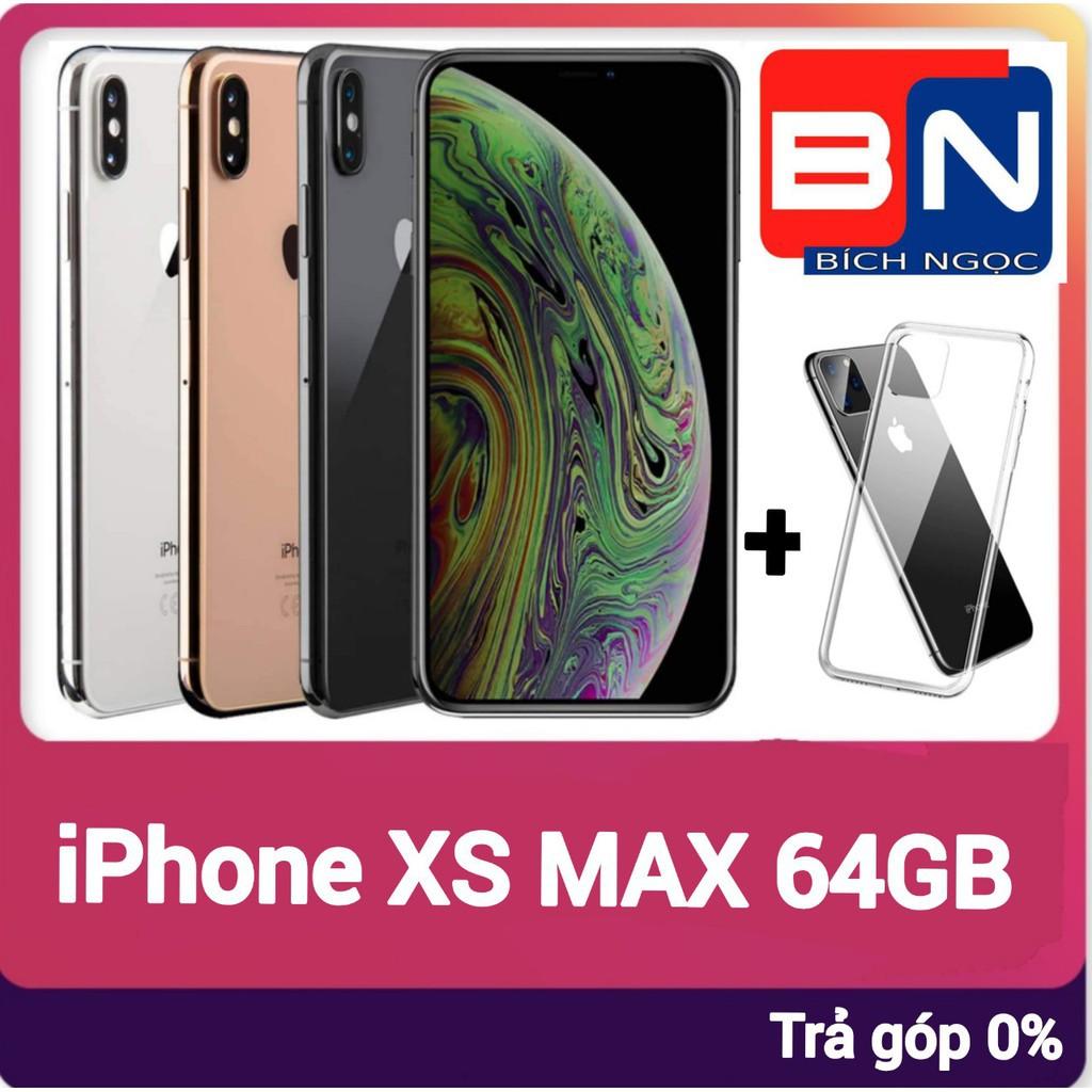 Combo Điện thoại Apple iPhone XS MAX bản 64GB+ ốp lưng bảo vệ - Hàng mới 100% chưa kích hoạt