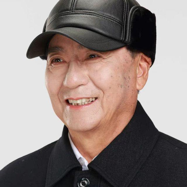 Mũ da nam cho người trung tuổi QC