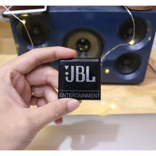 Logo JBL dán thùng loa, loa sub