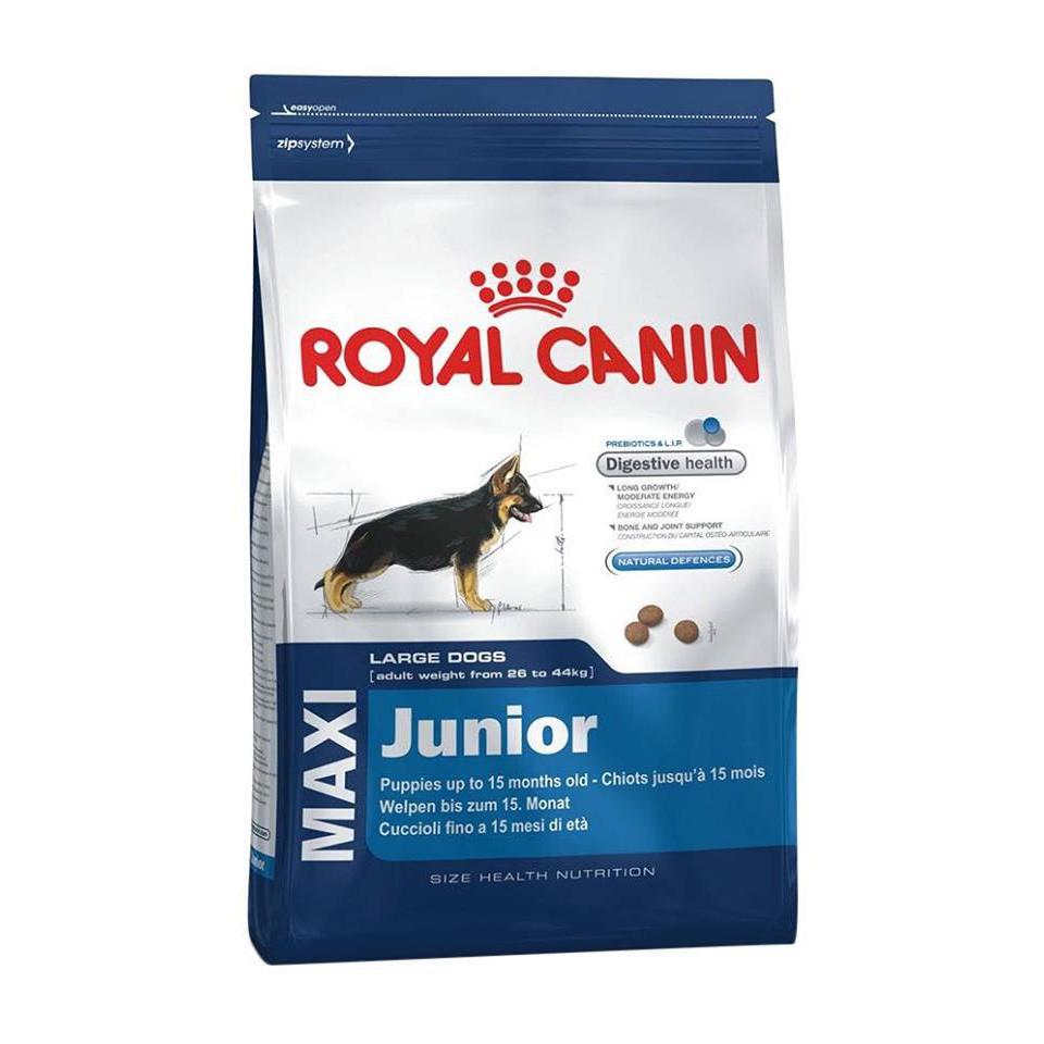 Thức ăn cho chó con dưới 1 năm tuổi giống chó lớn(MAXI JUNIOR 1kg)