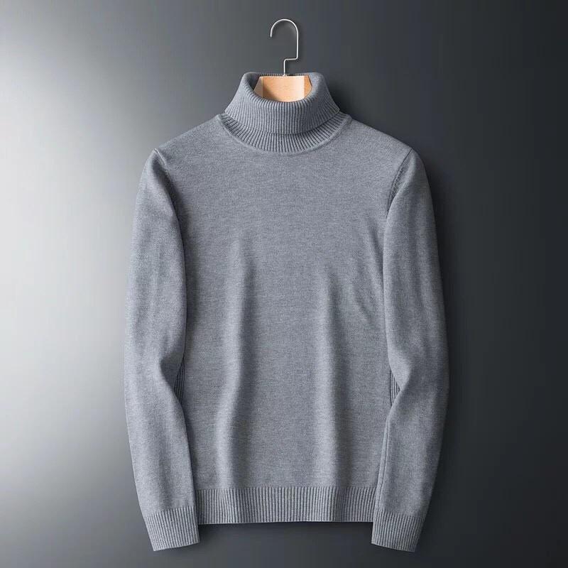 Áo Len Nam Cổ Lọ,Len mịn chất dày đẹp form dáng phù hợp cho cả nam và nữ hoặc làm áo đôi