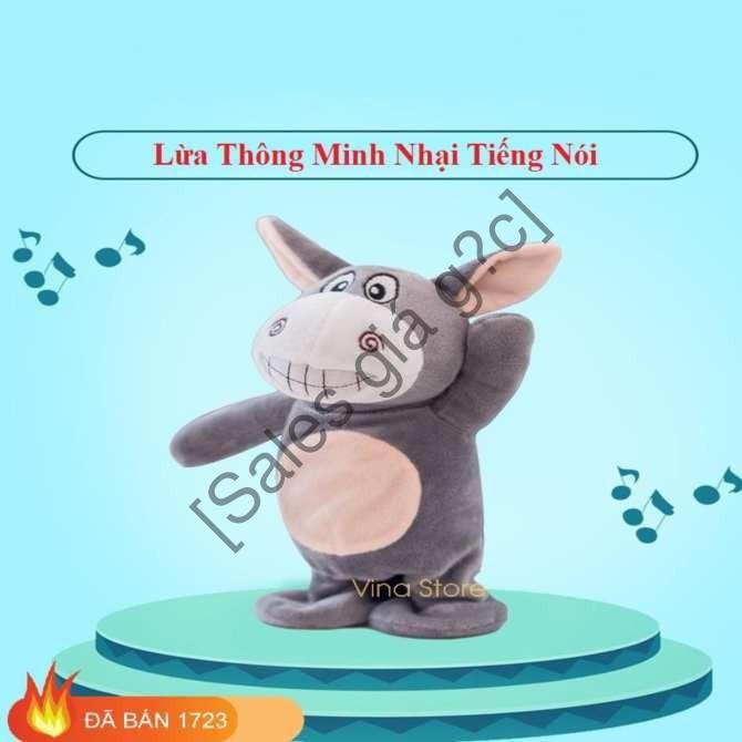 Sales giá sốc_ Đồ chơi lừa Donkey biết nói biết hát cho bé [Hàng đẹp,chất lượng cao]
