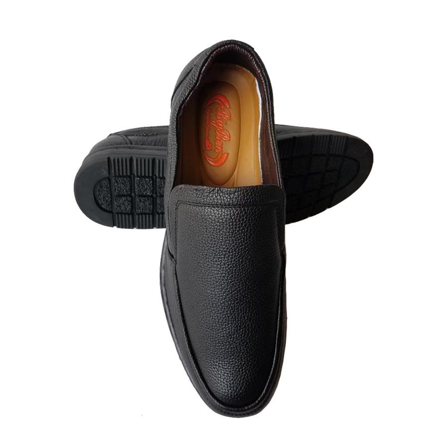 Giày Mọi Nam BIGBEN Da Bò Thật Cao Cấp GM127