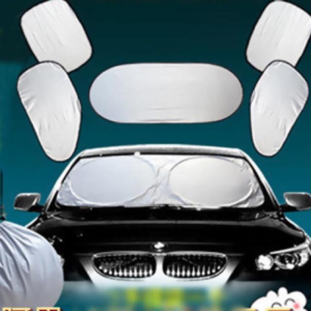 Bộ che nắng ô tô 6 miếng - AL - 2556181 , 395187268 , 322_395187268 , 99000 , Bo-che-nang-o-to-6-mieng-AL-322_395187268 , shopee.vn , Bộ che nắng ô tô 6 miếng - AL