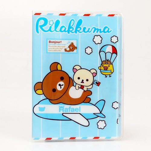 Vỏ hộ chiếu Passport Hoạt Hình Gấu Rafael