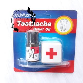 Tinh Dầu Đau Răng Toothache Relief Oil Thái Lan, sâu răng an toàn cho sức khỏe