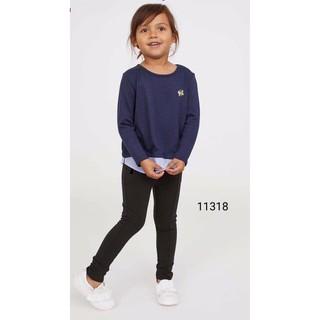 Quần Tregging legging HM bé gái tqxk size 2-10 tuổi