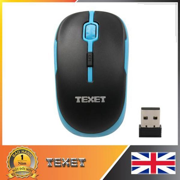 Chuột không dây Texet WMV-001 (Đen)