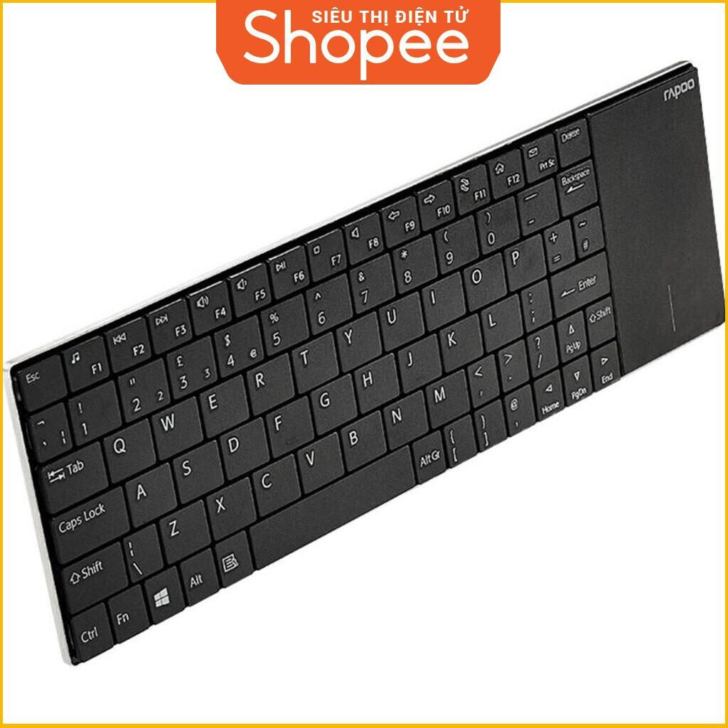 [Siêu Khuyến Mãi] Sản phẩm bàn phím máy tính Wireless Rapoo E2710 Giá chỉ 823.750₫