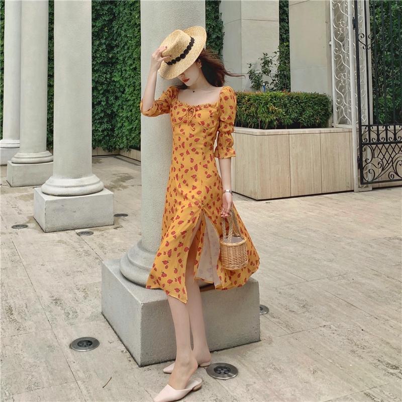 Váy đi biển mới siêu cổ tích Thái Lan du lịch mặc ảnh du lịch quần ...