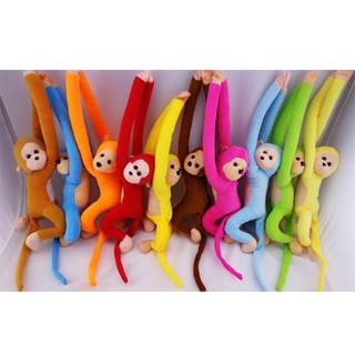 Monkey Toy Plush Long Arm Kids Children Hanging Cotton Stuffed Cute Animal