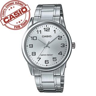 Đồng hồ nam dây kim loại Casio Standard chính hãng Anh Khuê MTP-V001D-7BUDF