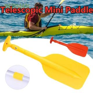 NORMAN Portable Paddle Mini Aluminum Shaft Propeller Kayak Telescopic 22″-42″ Inflatable Boat Durable Canoe Water Sports/Multicolor