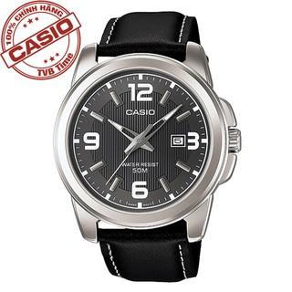 Đồng hồ nam dây da Casio Standard chính hãng Anh Khuê MTP-1314L-8AVDF (44mm)