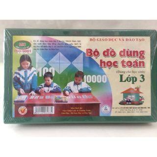 Bộ đồ dùng học toán lớp 3