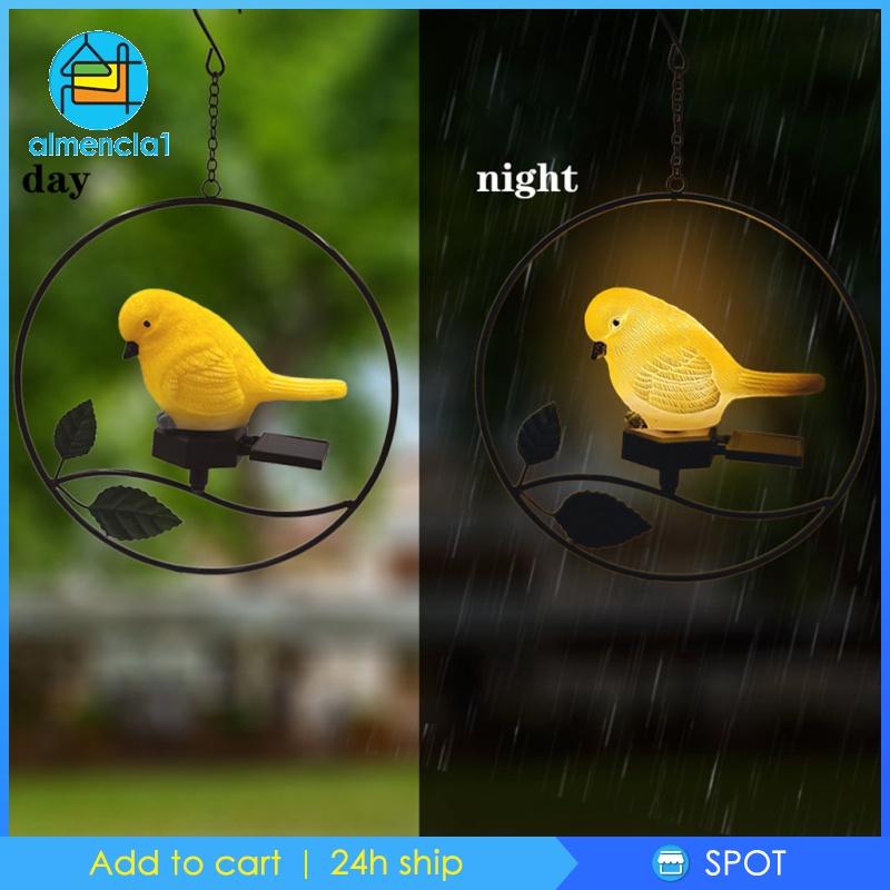 1 Đèn Led Treo Trang Trí Sân Vườn Hình Chim Cú Sử Dụng Năng Lượng Mặt Trời