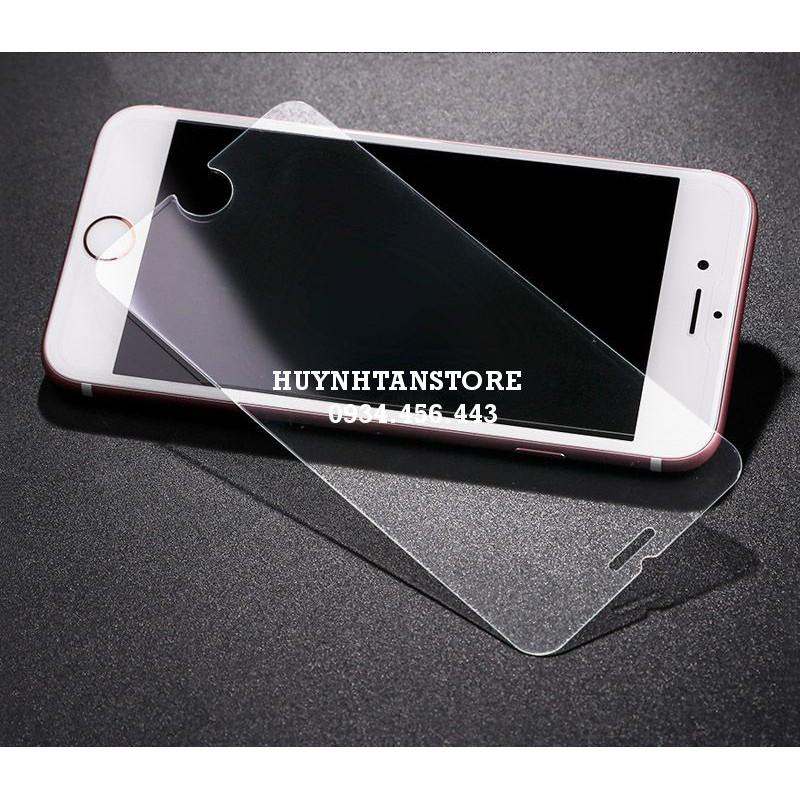 Cường lực cho Iphone 6/6s _ Cường lực trong suốt không full màn 9H 2,5d ( tặng keo chống hở mép)