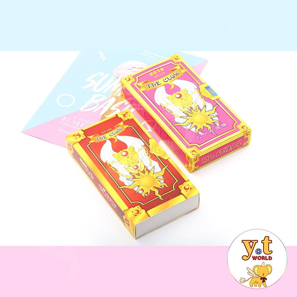 Bộ bài Clow - Sakura (hộp giấy)
