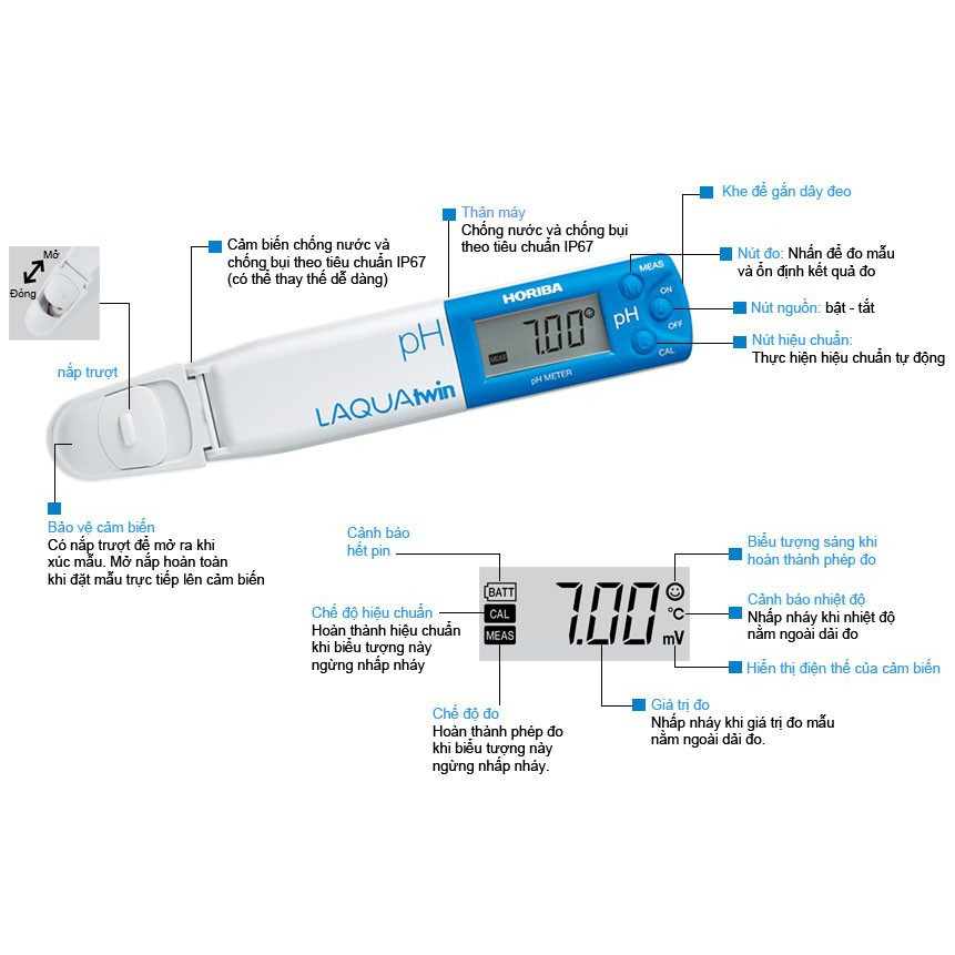 bút đo pH Horiba PH11 | Shopee Việt Nam