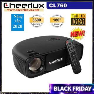 Máy chiếu Full HD Cheerlux CL760 , độ sáng 3600 Lumens, zoom điện tử, xem phim, bóng đá cực nét. BH 12 tháng.