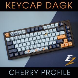 Keycap Cherry DAGK Back Blue 128 Phím Cho Bàn Phím Cơ Của EZPC