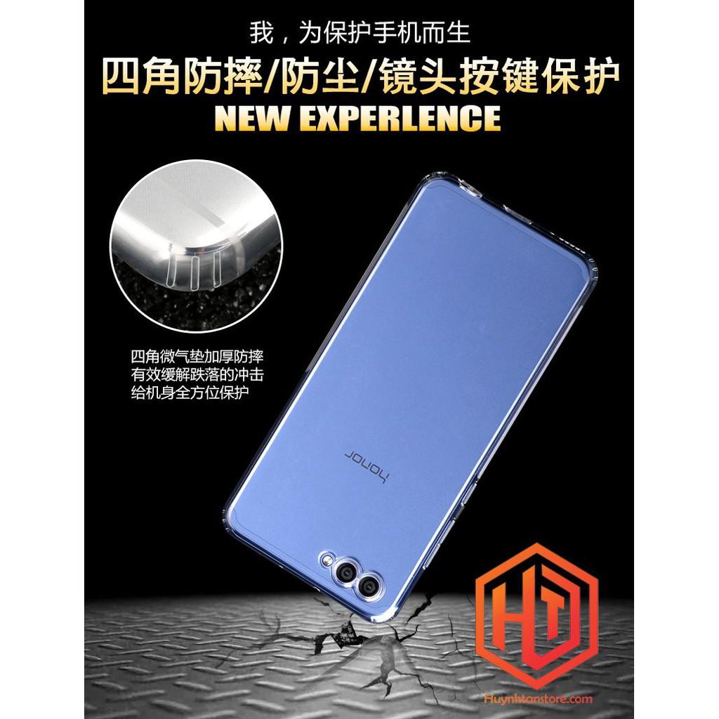 Huawei Honor V10 _ ỐP silicon trong suôt cao cấp chính hãng