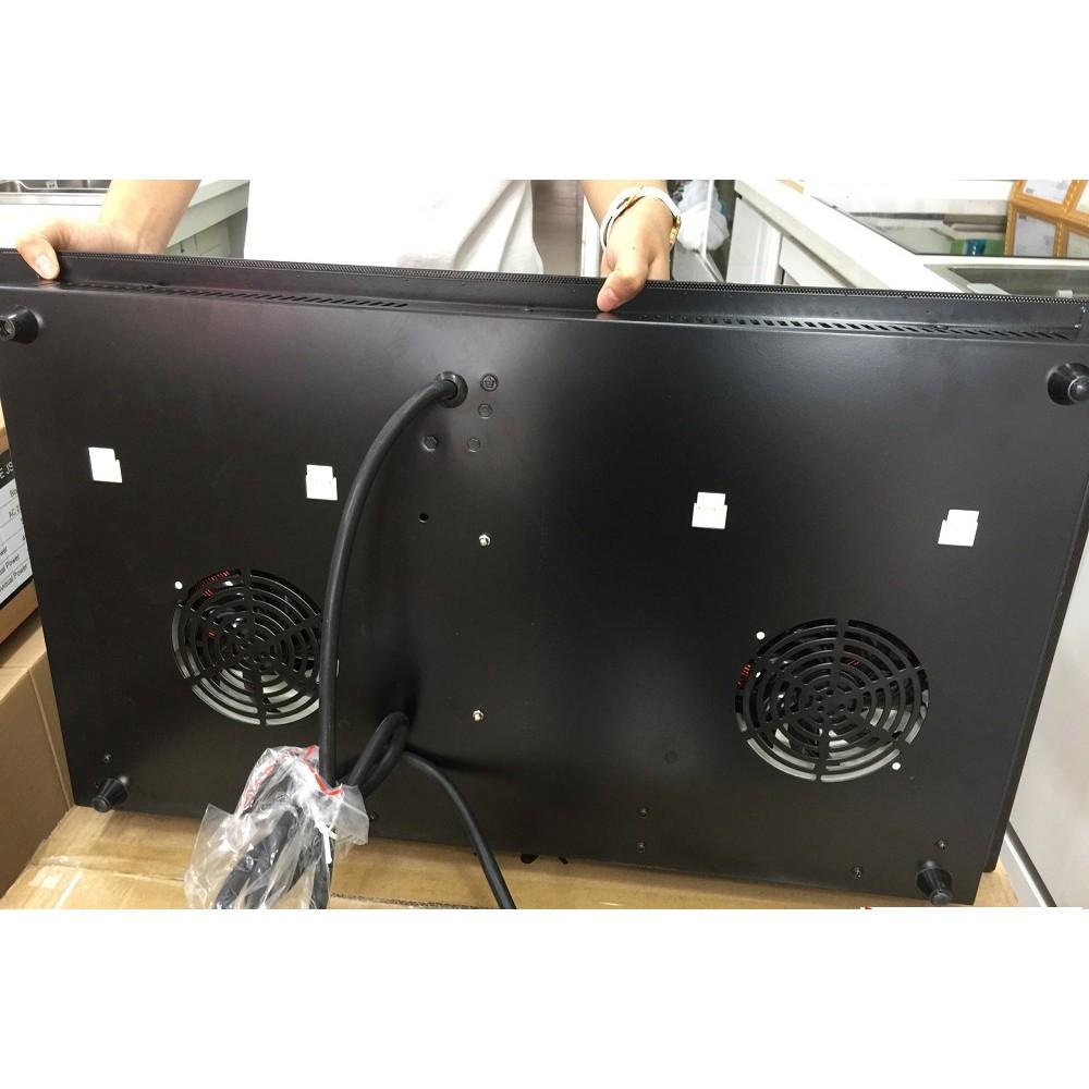 Bếp điện từ Faster FS 628HI nhập khẩu Malaysia, bếp điện từ đôi, bếp từ hồng ngoại, bếp hỗn hợp điện từ