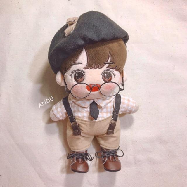 Set Cowboy outfit cho doll 15-20cm