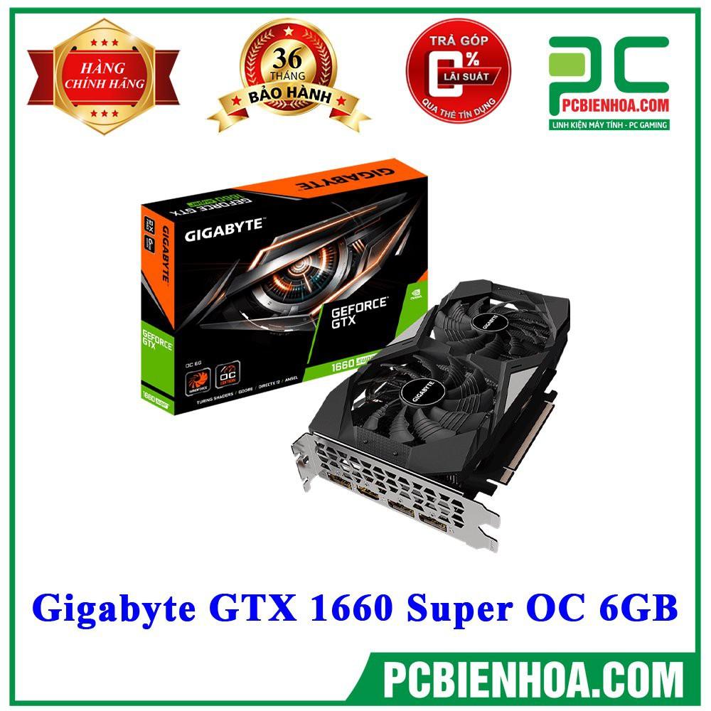 [Mã ELCL2MIL giảm 7% đơn 2TR] Card màn hình GIGABYTE GTX 1660 SUPER OC 6GB