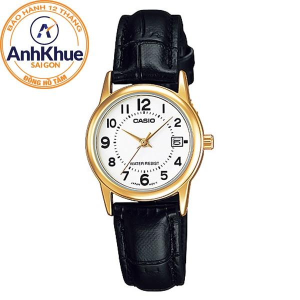 Đồng hồ nữ dây da Casio Anh Khuê LTP-V002GL-7BUDF - 10057849 , 710850930 , 322_710850930 , 713000 , Dong-ho-nu-day-da-Casio-Anh-Khue-LTP-V002GL-7BUDF-322_710850930 , shopee.vn , Đồng hồ nữ dây da Casio Anh Khuê LTP-V002GL-7BUDF