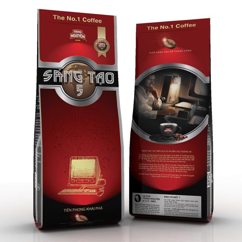 Cà phê Trung Nguyên Sáng tạo 5 340g - 3115608 , 978138322 , 322_978138322 , 90000 , Ca-phe-Trung-Nguyen-Sang-tao-5-340g-322_978138322 , shopee.vn , Cà phê Trung Nguyên Sáng tạo 5 340g