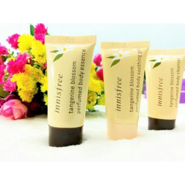 Bộ KIT sản phẩm chăm sóc da toàn thân Tangerine Blossom Perfumed Body