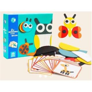 Bộ ghép hình thông minh Montessori Fun Board