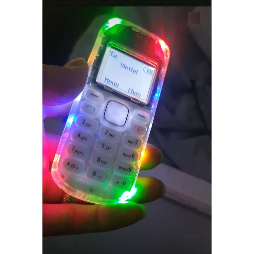 Điện Thoại Nokia 1280 Độ Led Đẹp 10 Bóng (Máy + Pin + Sạc)
