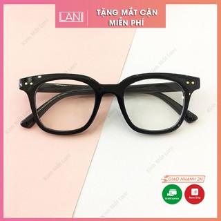 [ Tặng Mắt Cận Miễn Phí ] Gọng kính cận nam nữ mắt vuông chữ V Lani kính mắt thời trang thumbnail