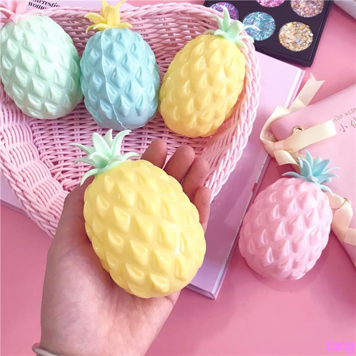 Ins cute creative students vent decompression pineapple squeezing music ball sma