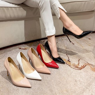 Giày cao gót 9p giày cao mũi nhọn mềm