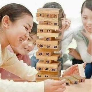Bộ Đồ Chơi Rút Gỗ Toán Học Loại To Cho Bé ohmygot121