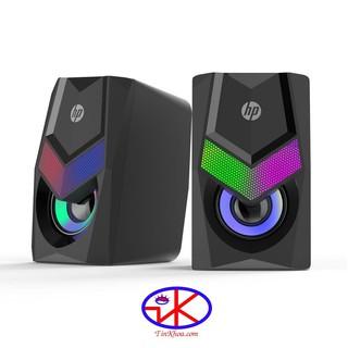 [Mã ELFLASH5 giảm 20K đơn 50K] Loa máy tính HP DHE 6000 đèn led RGB(HP6000)