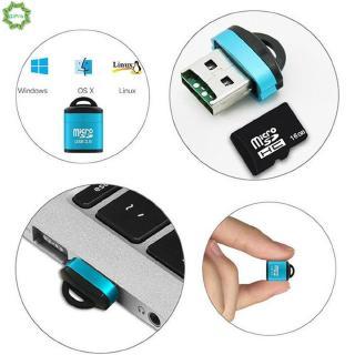 Đầu đọc thẻ nhớ mini USB 2.0 dành cho Micro Sd Sdhc Sdxc Tf