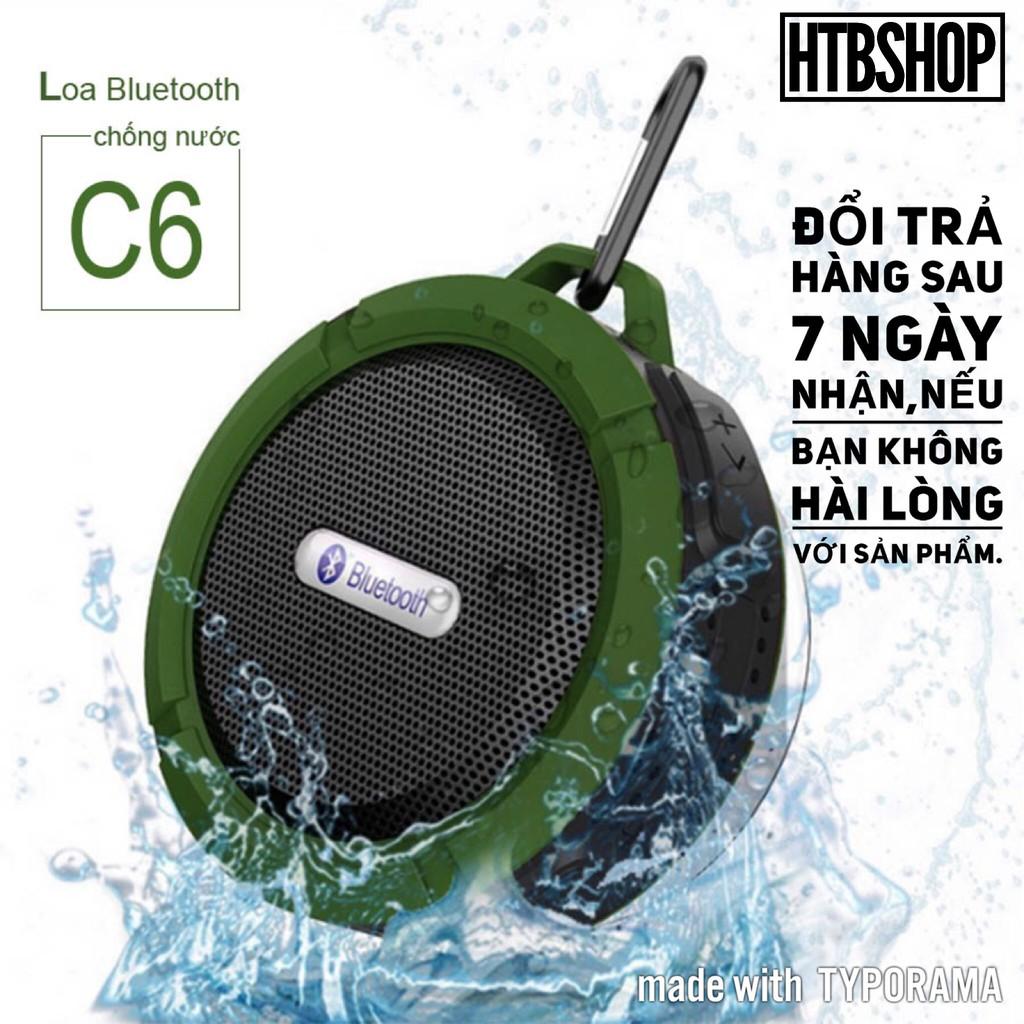 Loa Bluetooh C6 Chống Nước,Usb,Thẻ Nhớ,Fm ( Bảo Hành 3 Tháng)